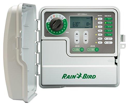 Rain Bird SST1200OUT Simple-to-Set Indoor/Outdoor Sprinkler/Irrigation Timer/Controller,...