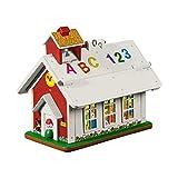 Hallmark Keepsake Mini Christmas Ornament 2019 Year Dated Fisher-Price Lil Miniature, 1.08', Little School House