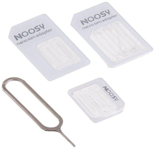 Adaptador de Tarjeta SIM Nano a Micro/Normal para Apple iPhone 5 4s...