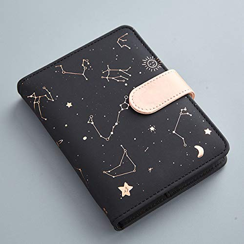 Constellations Notebook Pu Cover Calendario Calendario Diario Agenda settimanale Notebook Scuola Forniture per ufficio Kawaii Stationery 2020