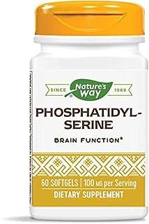 Nature's Way Phosphatidylserine, For Brain Function*, 100 mg per Serving, 60 Softgels