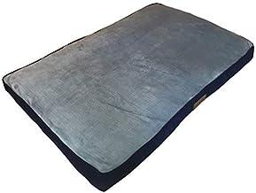 Ellie-Bo hondenbed, zijkanten van de zijkanten, nepbont, 121,9 cm, XXL, blauw/grijs