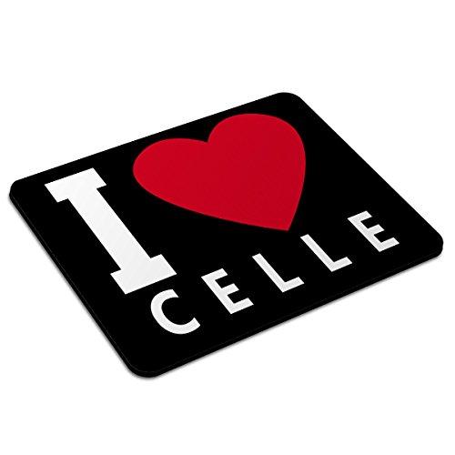 Mousepad Celle personalisiert - Motiv I Love - Städtemousepad, personalisiertes Mauspad, Gaming-Pad, Maus-Unterlage, Mausmatte