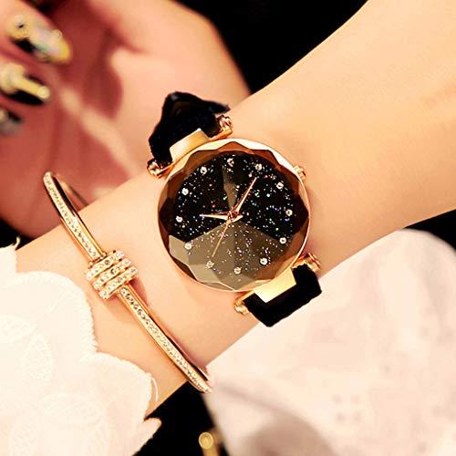 LTOOLA Girl Watch wasserdichte Mode Einfache Trend-Freizeit,B