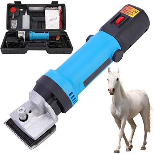 GABraden 380W Horse Clippers Professional Electric Animal Grooming Kit for Horse Equine Goat Pony Cattle