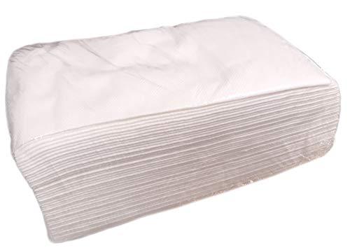 DSTOCK60 - Juego de 100 toallas desechables (76 x 45 cm, calidad luja)