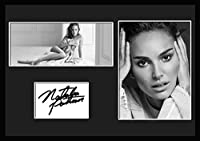10種類! ナタリー・ポートマン/Natalie Portman /サインプリント&証明書付きフレーム/BW/モノクロ/ディスプレイ/3W (08) [並行輸入品]