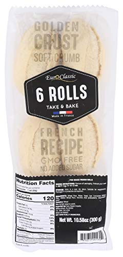 Euro Classic Imports, Rolls 6 Count, 10.58 Ounce