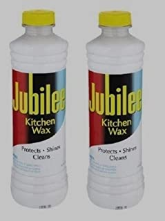 *2* 15 oz JUBILEE Kitchen Wax CLEANER Protects Shines Multi Room & Surface NEW!