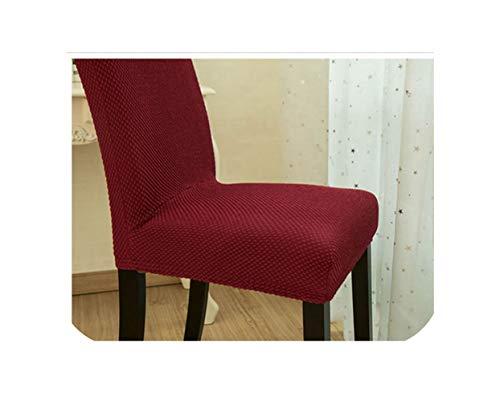 dudifeng Stuhlhusse aus dickem Stoff, bunt, universal, Spandex, für Esszimmerstühle, Büro, Computer, Recamiere, hohe Rückenlehne, 50 bis 60 cm