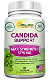 aSquared Nutrition Candida Support Cleanse Supplement - Pure Natural Candida Yeast Infection Support