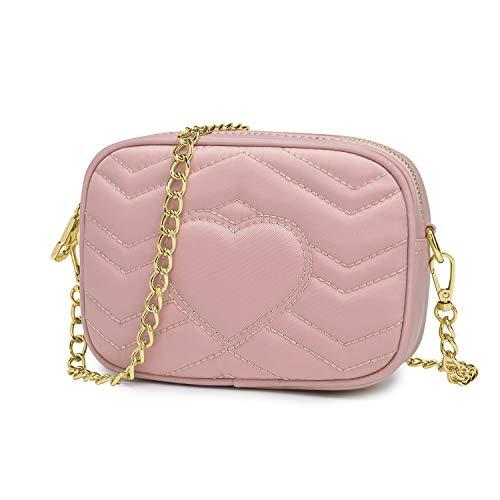 Wind Took Umhängetasche Damen Kleine Tasche Kette Bag Clutch Mini Handtasche Citytasche für Hochzeit Party Geburtstag Barbesuch, 18x13x6 cm
