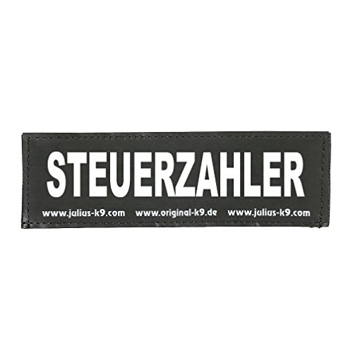 Julius K9 8151132 2 Klettsticker S. Steuerzahler