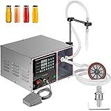 VEVOR 17L Liquid Filling Machine Macchina di Riempimento di Liquido Automatico Riempitrice con Pedale Controllo Digitale (Acqua, Bevande, Carburante, Aceto, Olio, Cosmetici)