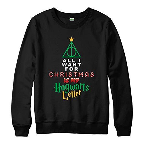 Jersey de Navidad de Harry Potter, Hogwarts para adultos y niños