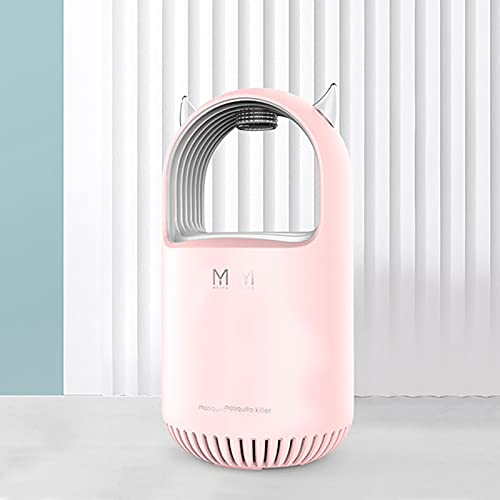 Cute Mosquito Killer Electric Indoor Mosquito Trap USB Home Mosquito Repellent Insect Killer for Mosquitoes Fruit Flies and Flying Gnats Photocatalyst Mosquito Killer Bug Killer Child Safe