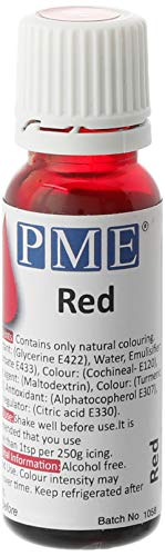Colorante Alimentario 100% Natural PME - Rojo 25 g