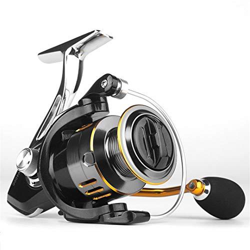 Carrete de Pesca 8kg MAX Drag Carro Metal Spool Manija de Cuerpo Carrete Spinning Reel para Bass 3000 Series