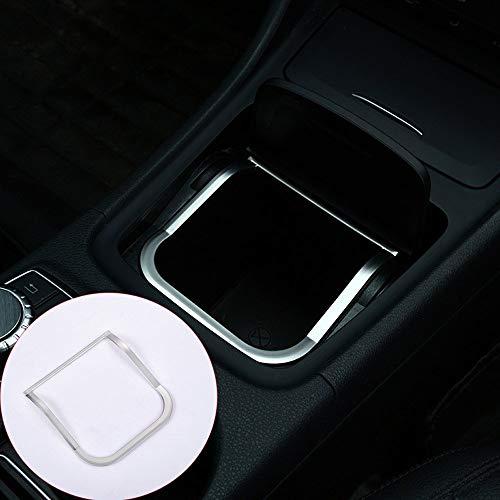 Cadre de boîte de Rangement Central en Plastique ABS chromé Autocollants Garniture pour CLA GLA A Classe B200 220 A180 W176 W117 C117