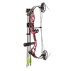 top 10 pse youth bows PSE Mini Burner Rts Package Rh25 40lbs Madi Girl Camouflage