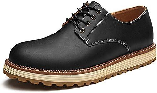 hombres casual zapatos de cuero