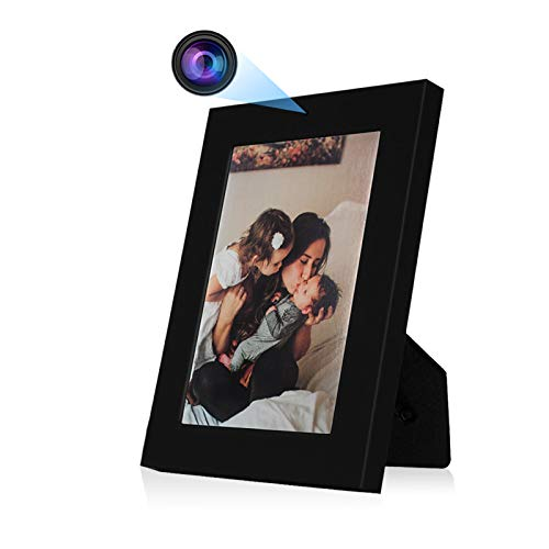 Photo Frame Camera, ZDMYING HD 960P Picture Frame Video Camera Nanny Cam for Home, Office Security, Long Battery Life (No WiFi Needed)