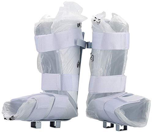 Férula Suave cómoda/Soporte piernas Fisioterapia electrónica y Entrenador motorizado Pedal Bicicleta rehabilitación, 1 par