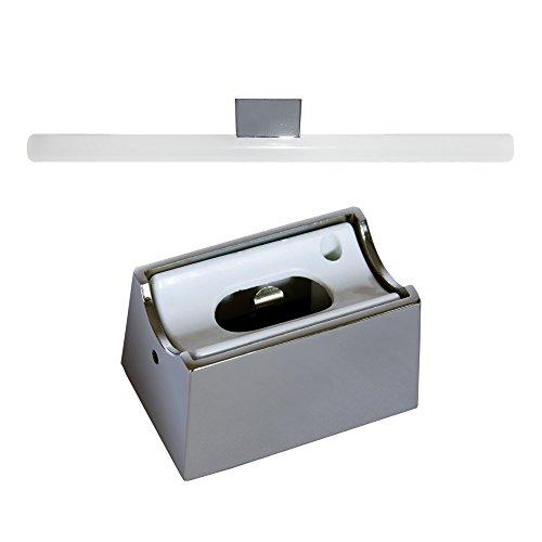 Hochwertige Spiegelleuchte S14d Fassung für Linestra Ralina Philina LED oder Glühlampe aus Metall (Chrom)
