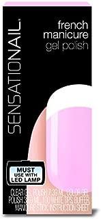 Nailene Color Gel Polish, French Manicure, Sheer Pink 71634 1 kit by Sensationail