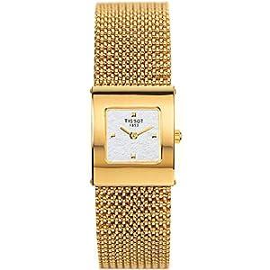 Tissot TISSOT Bellflower Lady 18K Gold T73.3.321.31 Reloj de Pulsera para