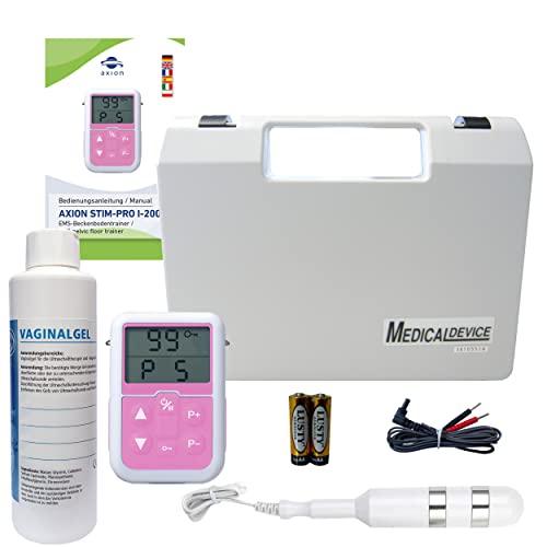axion Set Completo con elettrostimolatore Portatile EMS per Pavimento pelvico Donne