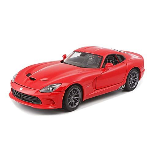 LKOER Modelo de Coche 1:18 Dodge V Simulación de Serpientes Aleación de la aleación de la fusión de los Ornamentos de la colección de Autos Joyería 25x10.8x7.5cm jinyang
