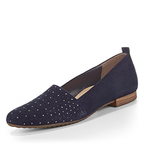 Paul Green Damen Slipper 0059-2226-029/Slipper 2226-029 blau 249595