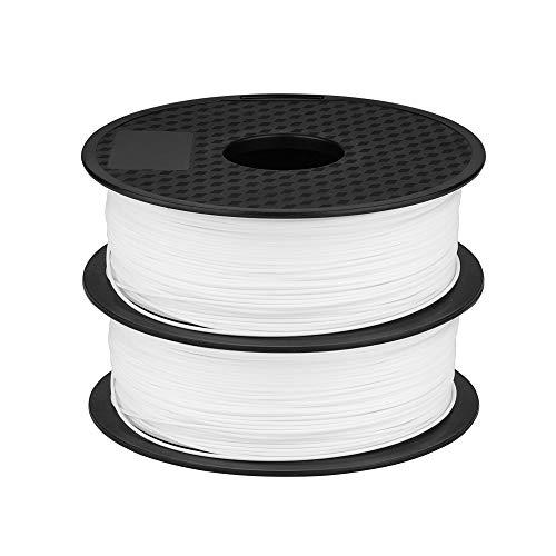 Creality 1.75mm Filamento PLA [2 rotoli] - Bianco