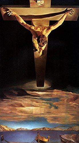 1art1 Salvador Dali - Il Cristo Di S Giovanni Della Croce Póster Impresión Artística (100 x 50cm)