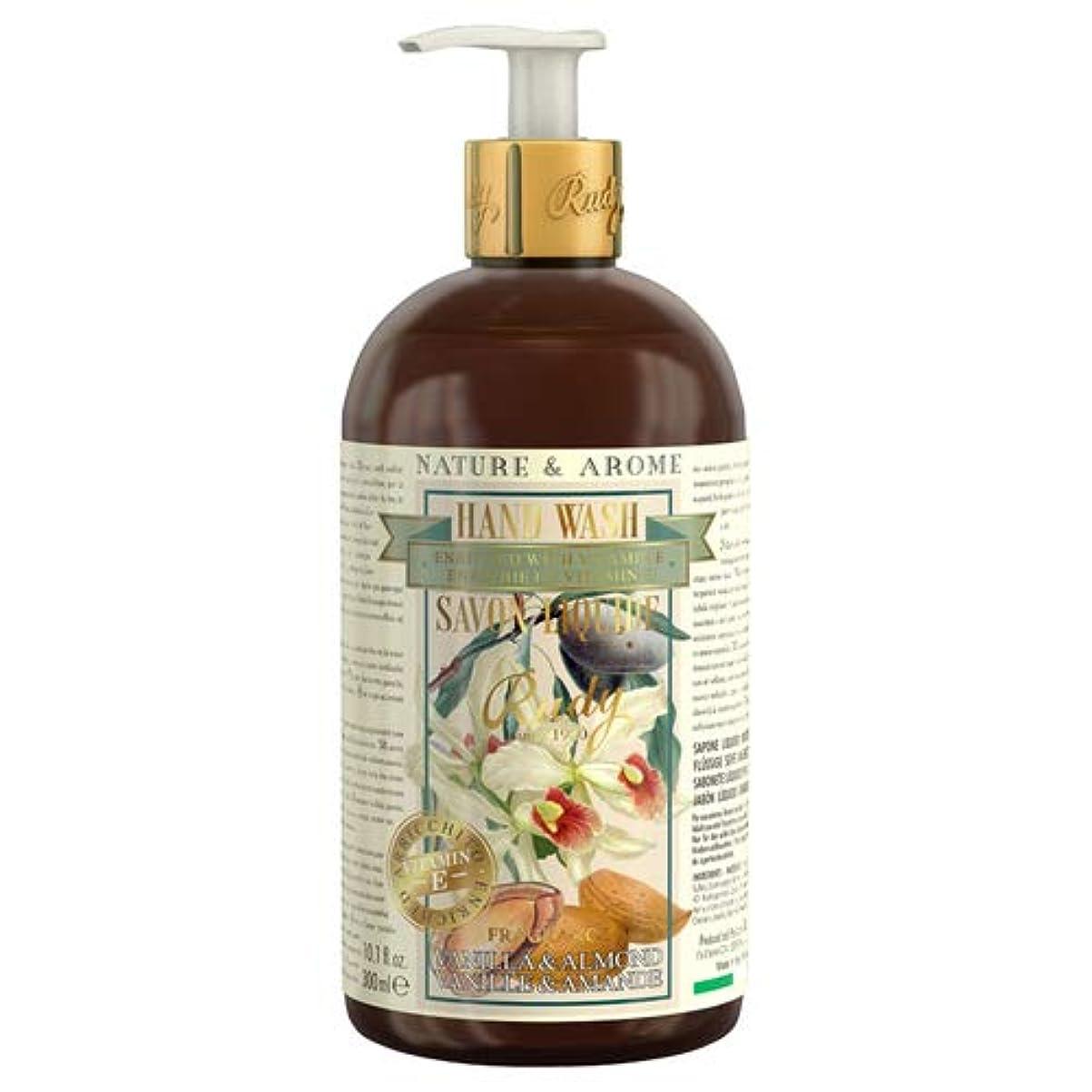 予報裕福な終わらせるRUDY Nature&Arome Apothecary ネイチャーアロマ アポセカリー Hand Wash ハンドウォッシュ(ボディソープ) Vanilla & Almond バニラ&アーモンド