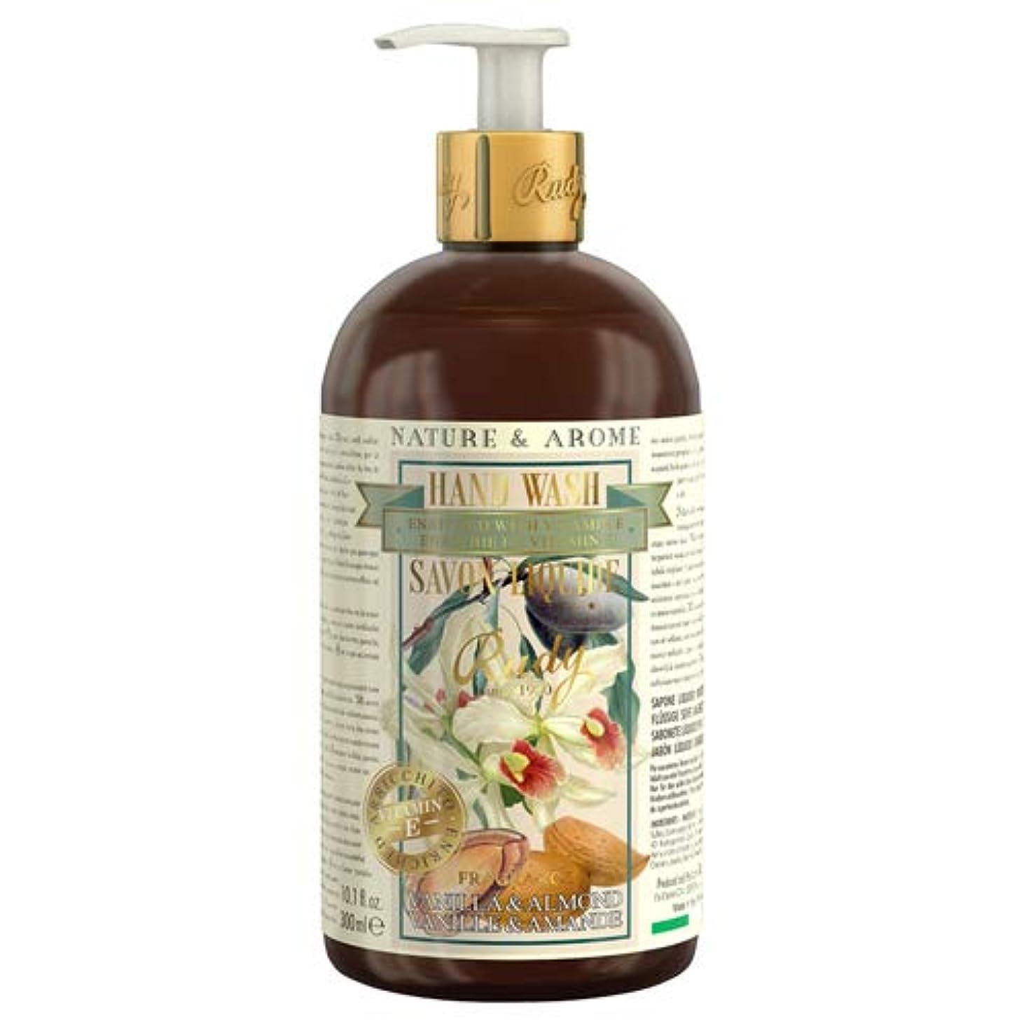 デモンストレーション独立してマーケティングRUDY Nature&Arome Apothecary ネイチャーアロマ アポセカリー Hand Wash ハンドウォッシュ(ボディソープ) Vanilla & Almond バニラ&アーモンド