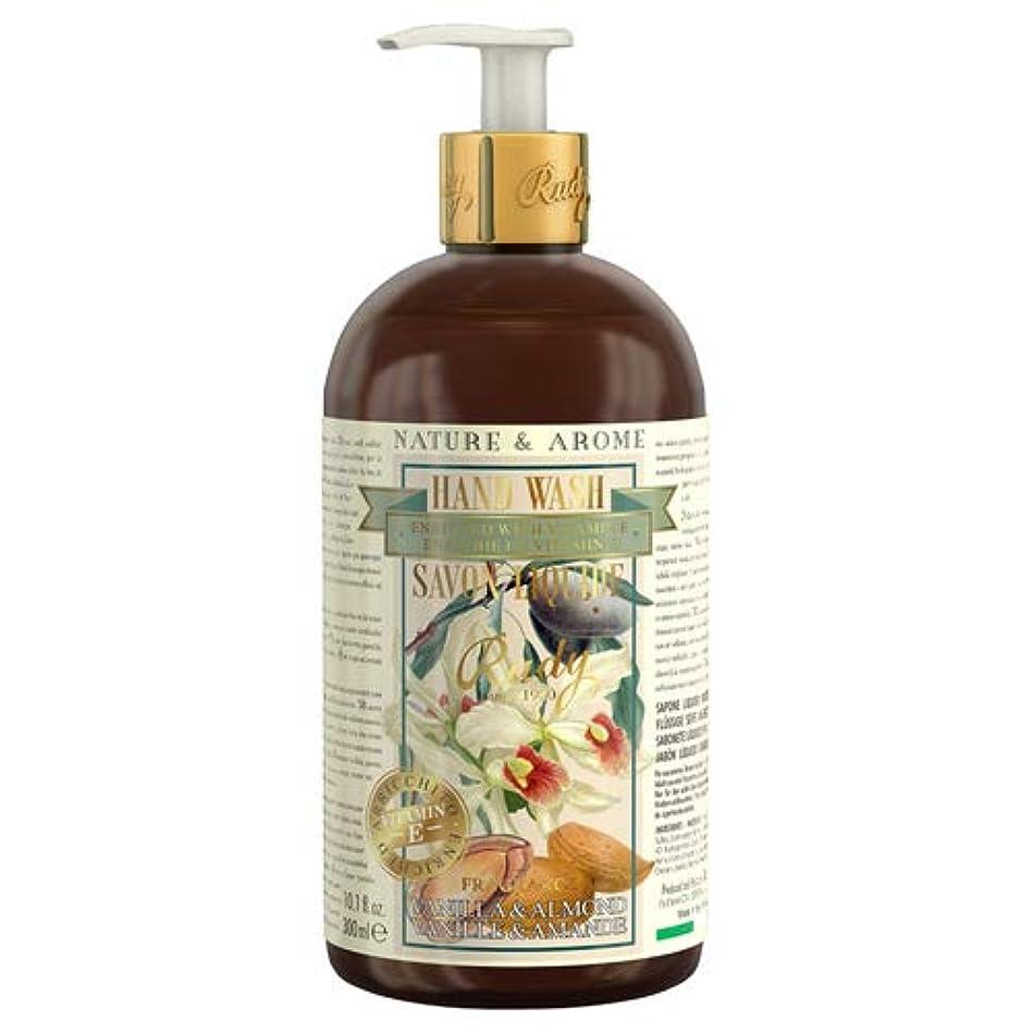 雪だるまおびえた火炎RUDY Nature&Arome Apothecary ネイチャーアロマ アポセカリー Hand Wash ハンドウォッシュ(ボディソープ) Vanilla & Almond バニラ&アーモンド