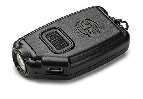 SureFire Sidekick Ultra-Compact Triple-Output Keychain Light, Black