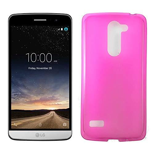 Mb Accesorios Funda Carcasa Gel Rosa para LG Ray, Ultra Fina 0,33mm, Silicona TPU de Alta Resistencia y Flexibilidad