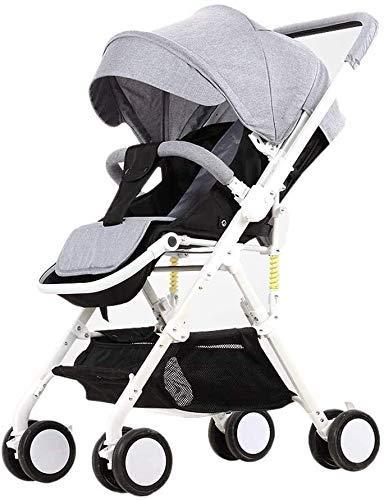 Tricycle Kids TRIKE 2 en 1 cochecito de bebé Carriadias livianas bebé recién nacidos sentados Peligros plegables para niños Trolley portátil Travel Baby Tricleter Silla de empuje infantil (Color: 1) k