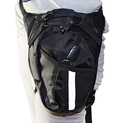 jiamins Hombres Bolsa de talla moto bolsa de running para piernas bolso táctico cinturón, bolsa de talla táctico de nailon deporte de Plein Air Popular