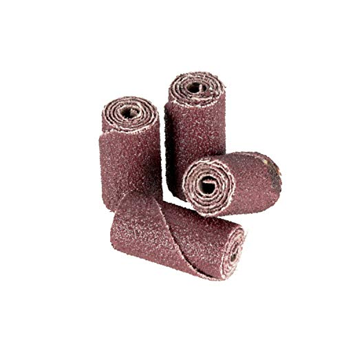 "3M Cartridge Roll 341D - 80 Grit, X-Weight Backing - Metal Sanding and Finishing - Die Grinder Abrasives - 1/2"" x 1"" x 1/8"""