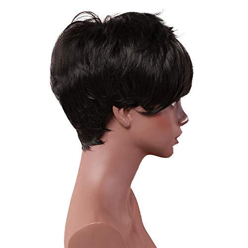 comprar pelucas cabello natural moreno on line