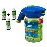 Adaym Pulvérisateur de semences de Gazon Liquide pour pelouse (3 Bouteilles de Solution nutritive)