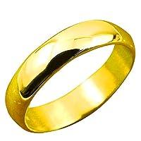 [アトラス]Atrus リング メンズ 純金 24金 幅広 ピンキーリング 婚約指輪 エンゲージリング 地金リング 16-20号 ストレート 指輪 19号