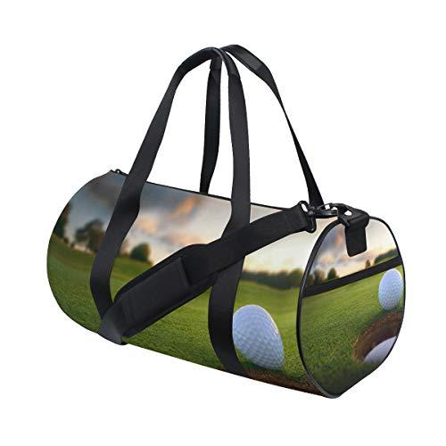 OuLian Duffel Bag Golf Backgrounds Women Garment Gym Tote Bag Best Sports Bag for Boys