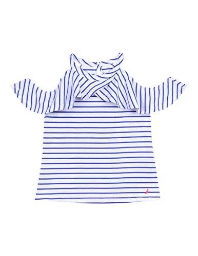 Nautica Toddler Girl's Girls' Fashion Top Shirt, true dark blue, 3T