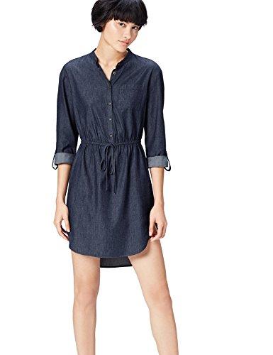 find. 13600 vestiti donna, Blu (Blue), 40 (Taglia Produttore: X-Small)