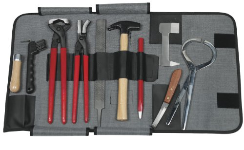 Pro Grade Complete Farrier Tool Kit w/Carrying Case